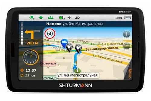 GPS-навигатор Shturmann Link 510 WiFi